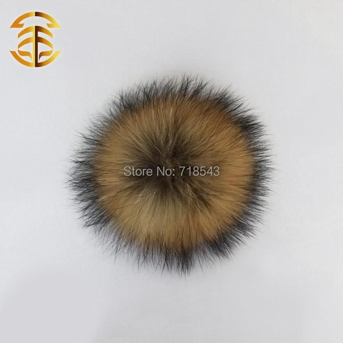2PCS / LOT რეალური Raccoon რბილი - ტანსაცმლის აქსესუარები - ფოტო 2