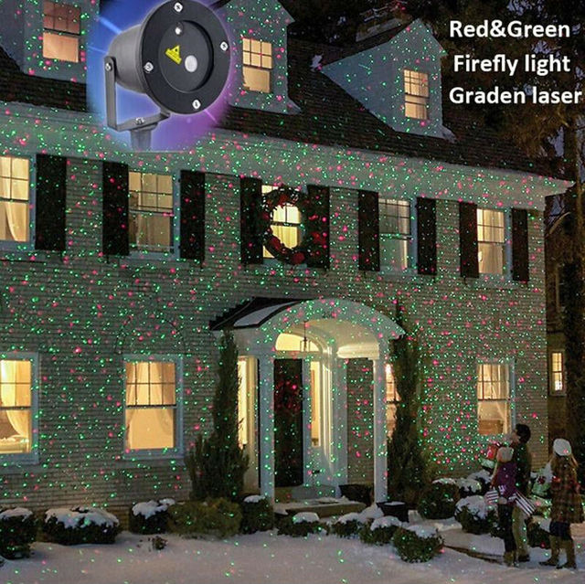 snowflakes sparkling co indoor amazon light landscape projection led white lighting decoration outdoor lights home uk christmas for dp lamp waterproof projector podofo