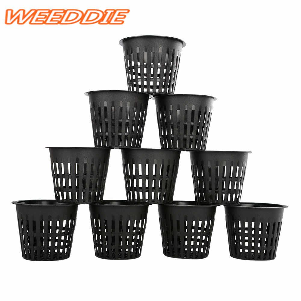 "Hot 1Pcx 3"" Heavy Duty Mesh Pot Net Cup Basket Hydroponic Aeroponic Plant Grow Clone"