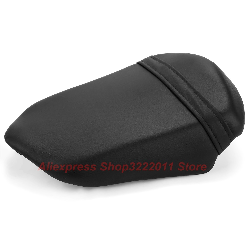 New Leather Rear Pillion For SUZUKI GSX1300BK B-KING 2008 2009 2010 2011 2012 Passenger Seat Cover