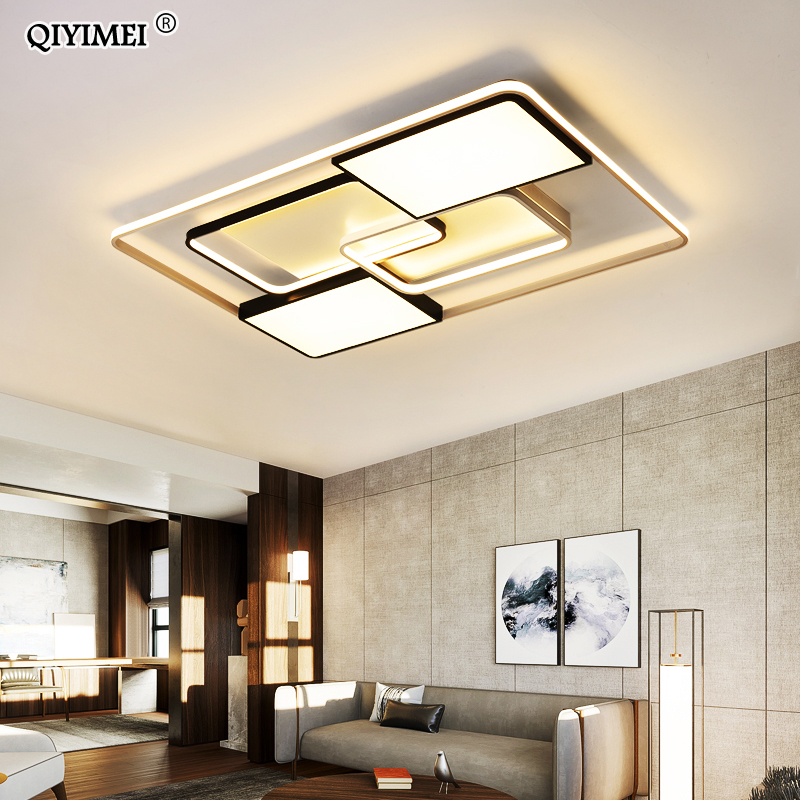New Modern LED Ceiling Lights Living Room Dining Bedroom Luminarias Para Teto Lighting Lamp For Home Fixture Lamparas De Techo-in Ceiling Lights from Lights & Lighting
