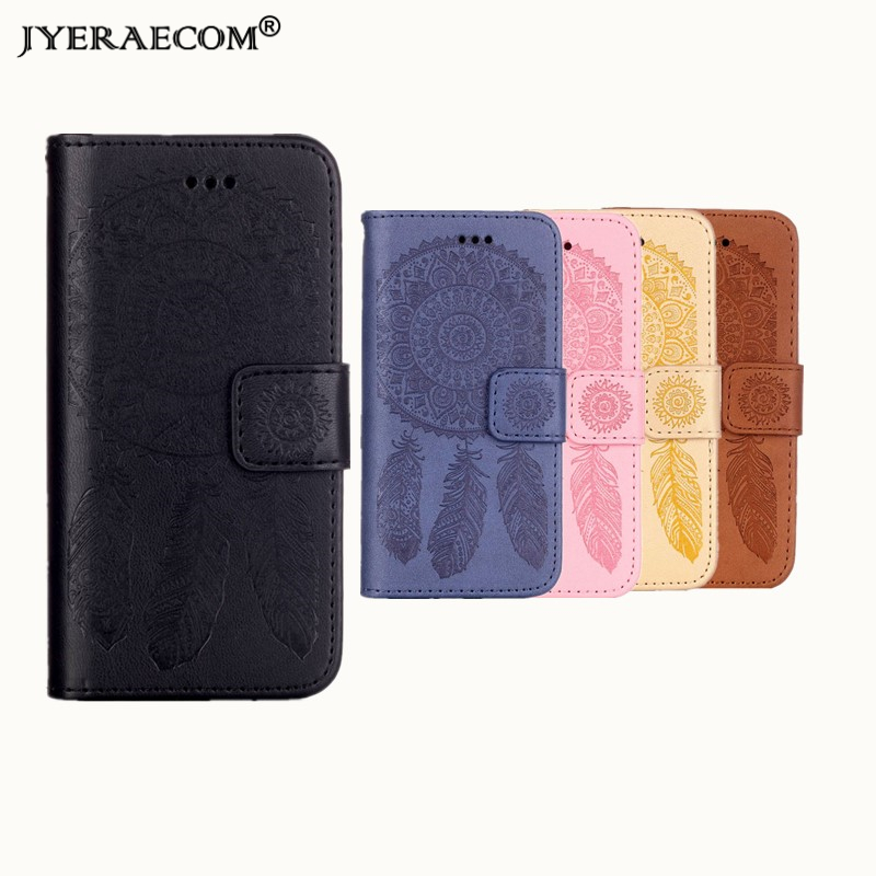 JYERAECOM Luxury Retro Flip Cover For iPhone 7 8 PU Leather+ Silicone Wallet Case For iPhone 7 8 Case Phone Case