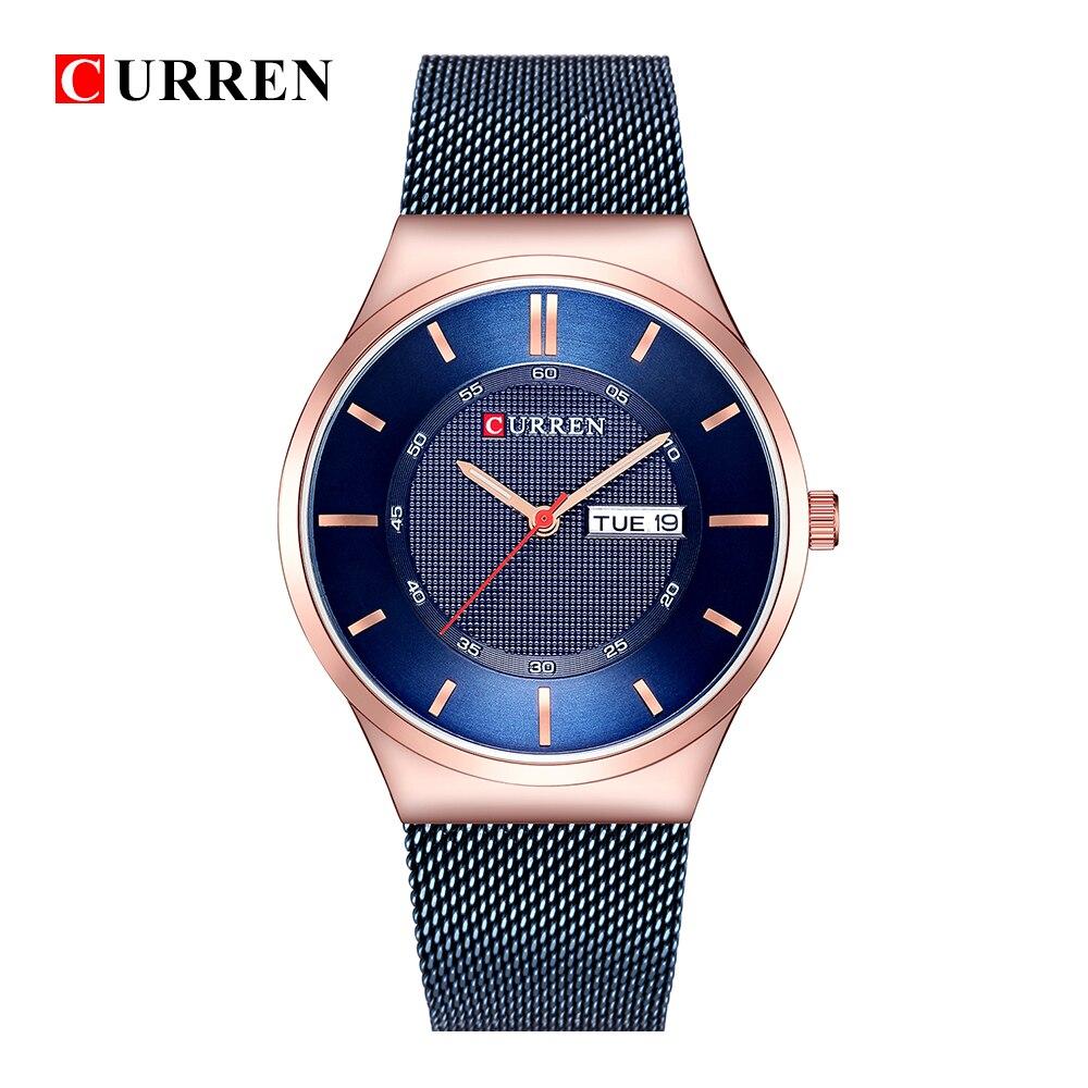 Curren Mens Watches Top Luxury Brand Men Unique Sports Watch Quartz Date Clock Waterproof Wrist Relogio Time