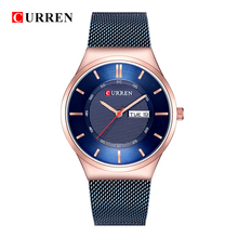 цены Curren Mens Watches Top Luxury Brand Curren Men Unique Sports Watch Men's Quartz Date Clock Waterproof Wrist Watch Relogio Time