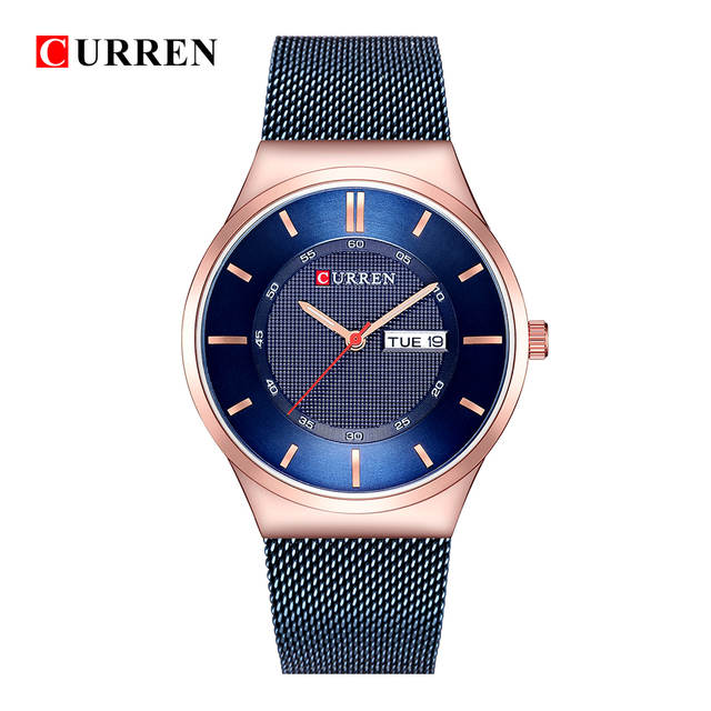 31c416d51 Mens Watches Top Luxury Brand curren 8311 Men Unique Sports Watch Men s  Quartz Date Clock Waterproof Wrist Watch Relogio