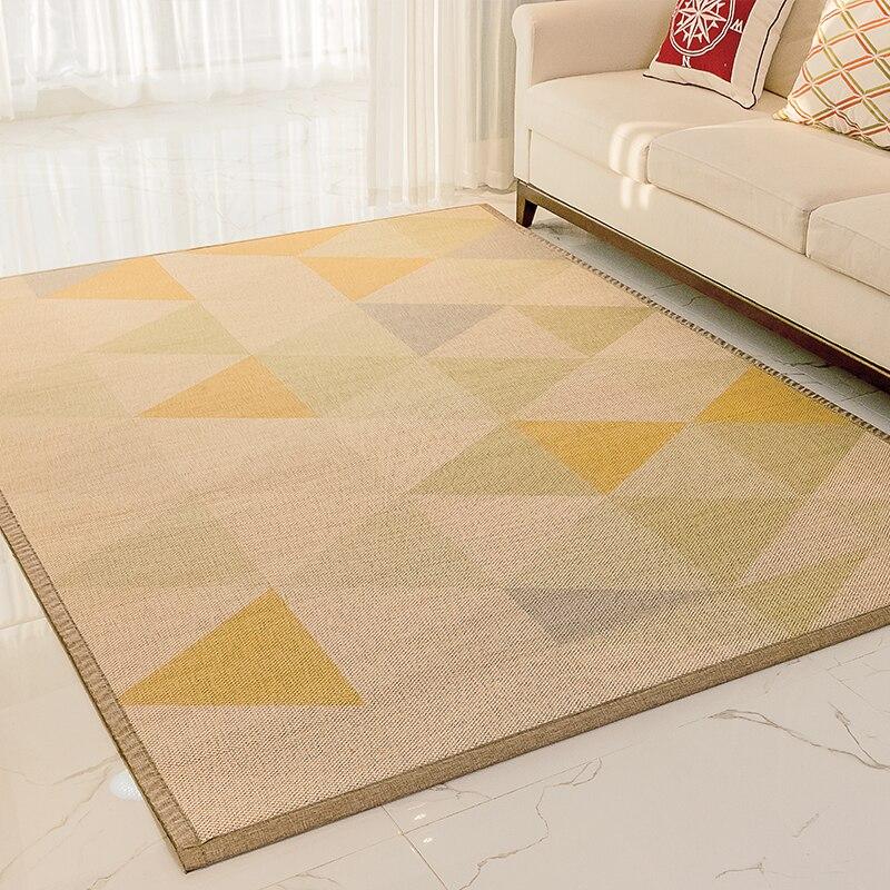 Japanischen Boden Bambus Teppich Grosse Rechteck Tragbare Mode Comfy