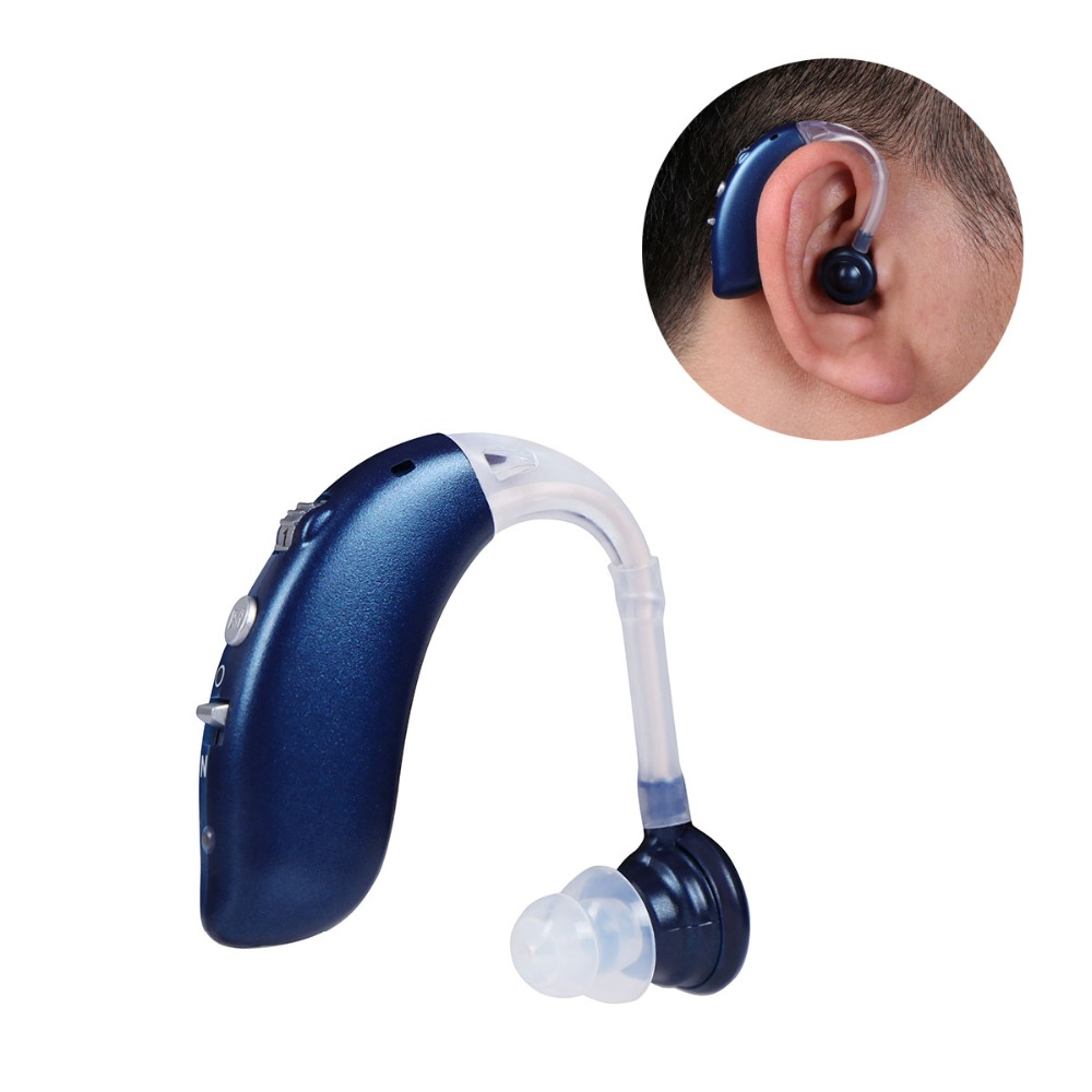 4 Modes Digital Hearing Aid Rechargeable BTE Hearing Aids For The Elderly Hear Clear Ear Amplifier Compared To Siemens DropShip