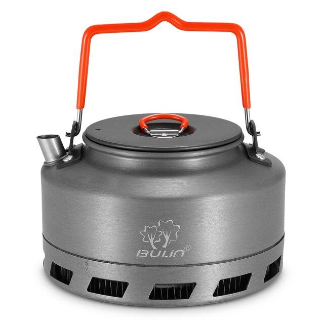 1,1 L Aluminium Legierung Tragbare Wasserkocher Wasser Topf Teekanne Kaffeekanne Geschirr Kochgeschirr Outdoor Camping Wandern Picknick Wasser Topf