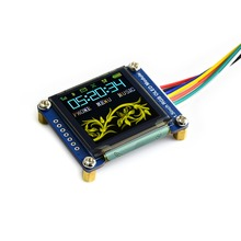 1.5 인치 rgb colofulr oled 디스플레이 모듈 ssd1351 arduino raspberry pi stm32 128 v 5 v 16 비트 65 k 색상 용 128x3.3 iic