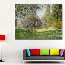 SELFLESSLY Impression Sunrise Monet Famous Paintings Reproductions HD Print Monet Posters For Living Room Wall Monet Decorative little monet