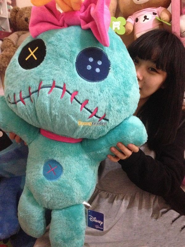 Fancytrader Copyrighted New 26\'\' 65cm Super Giant Stuffed Soft Plush Giant Cute Stitch, Free Shipping FT50794 (1)