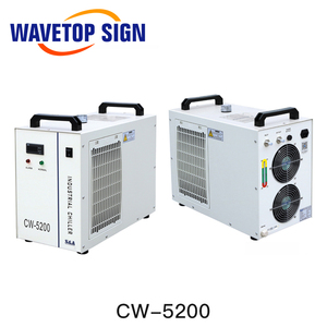 Image 3 - S & A CW5000 CW5200 CW5202 صناعة الهواء مبرد المياه ل CO2 آلة الليزر التبريد نك المغزل 80 واط 100 واط 130 واط 150 واط Co2 أنبوب الليزر