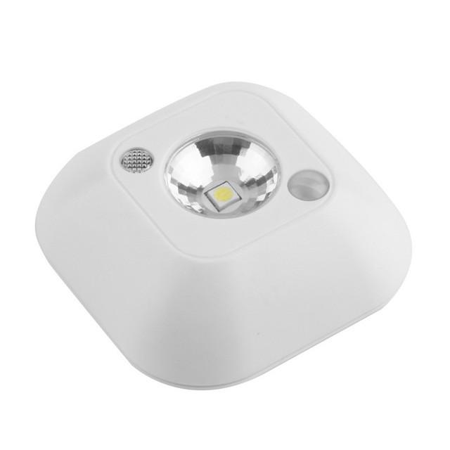 LED Mini Wireless Infrared Motion Sensor Night Light Wall Emergency Wardrobe Cabinet Night Lamp atmosphere light
