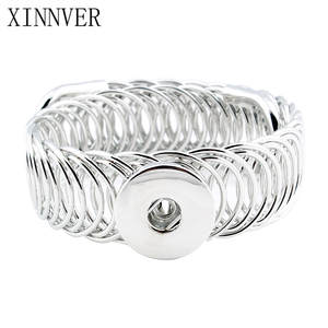 XINNVER Bracelets 18mm Snaps Buttons Jewelry For Women