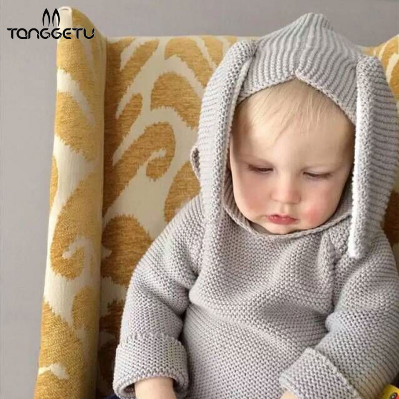 cb27be16c65f Tanggetu 2018 New Baby 1-3T Autumn Winter Children Hooded Homewear ...