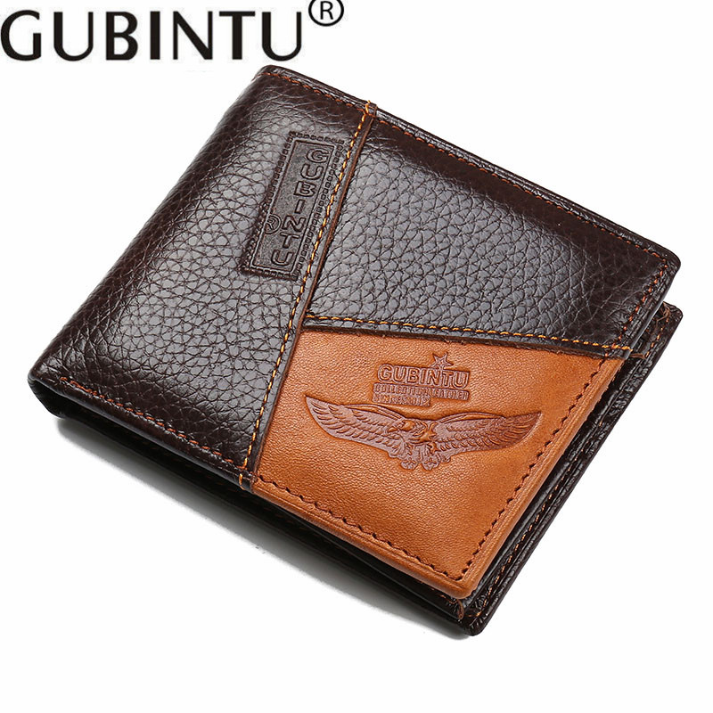 gubintu homens carteira de couro Peso do Item : 0.1kg