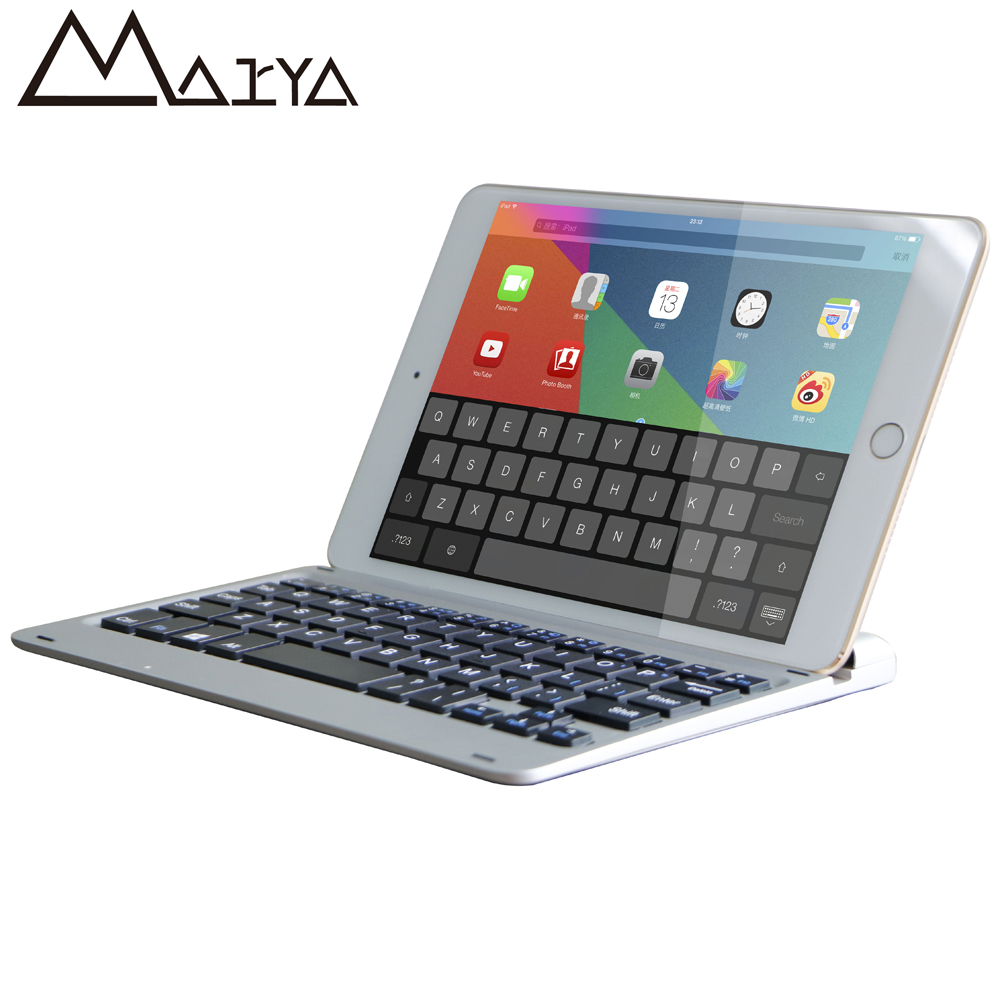 Keyboard For iPad Pro 12.9 Tablet Thin Flip Stand Removable Wireless Bluetooth Aluminum Keyboard PU Leather For iPad Pro 12.9 for ipad pro 9 7 2016 wireless bluetooth keyboard case for ipad pro 9 7 2016 aluminum alloy tablet flip stand cover stylus