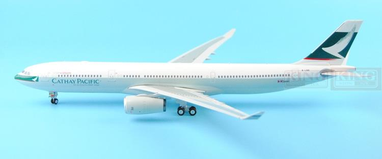 Eagle 100014 Hongkong Pacific Cathay 1000th 1:200 A330-300 commercial jetliners plane model hobby