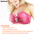 Befortune Massage & Relaxation Electric Nipple Enhancement Vacuum Breast Enlargement Massager Breast Enhancement Massage BF1502