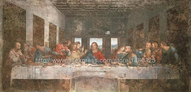 Panel Art Cafe Art Home Interior Wall Religious Painting The Last