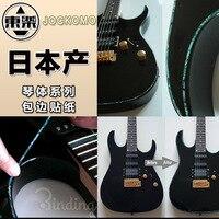 Kakma Etiketler Çıkartması Sticker için Ciltleme Çıkartmaları Gitar Vücut, boyun, mesnetli, 3 Renk Mevcut