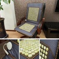 2014 продуктов здравоохранения для Пожилых людей природного камня нефрита массаж нефрита офисные стулья крышка подушки здорово