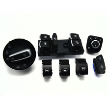 New Window Headlight Mirror Door Control Switch For VW Jetta Golf MK5 6 Tiguan RABBIT 5ND959565B 5ND959857 5ND941431A 1K0962125