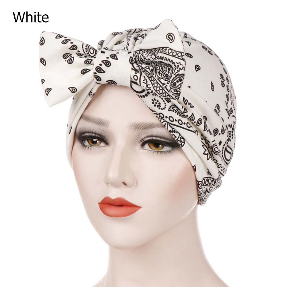 DAY OR NIGHT WEAR HEADWEAR FOR HAIR LOSS CHEMO GREY /& WHITE JERSEY TURBAN HAT