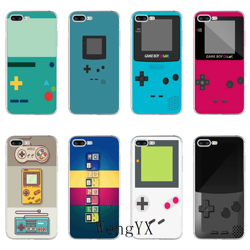 Gameboy Game Boy GB Original Slim silicone TPU Soft phone case For Xiaomi Mi 6 6X A1 5 5s 5x 4 4c 3 mix max 2 note 2 image
