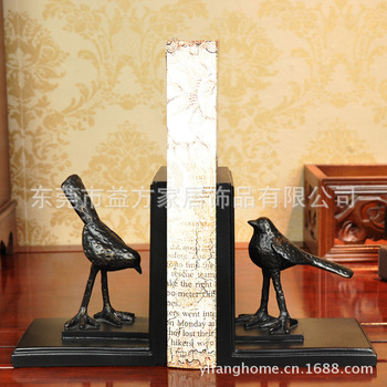 European style furnishings bird books home decoration decoration wedding gift resin craft home decoration
