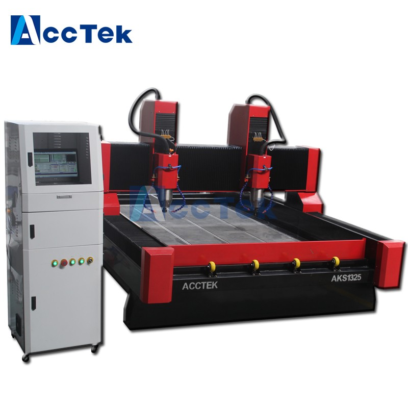 Tombstone Cnc Engraving Machine 1325/ High Precision Coloum Stone Marble Making Cnc Router Machinery