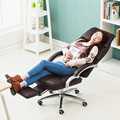 Super Soft Office Chair Household Ergonomic Computer Chair Liting Lying Swivel Chair Reclining Large Boss Chair With Footrest