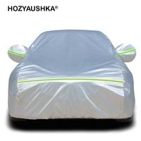 HOZYAUSHKACar clothing car cover car cover sun protection rain insulation thick universal sunshade cover