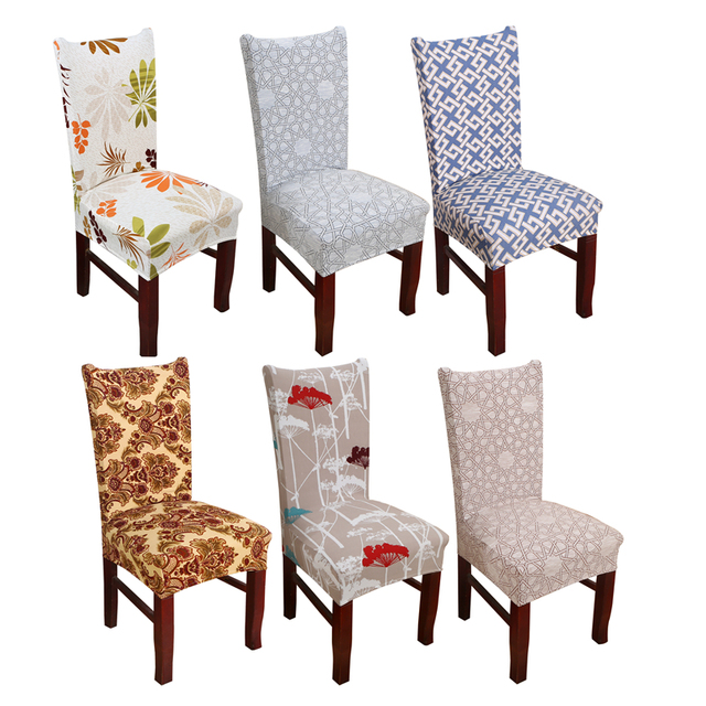 Dreamworld Computer Chair Cover Universal Chair Covers Dining Room Stretch  Elastic Covers For Kitchen Chairs Spandex