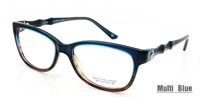 Luxury glass Blue