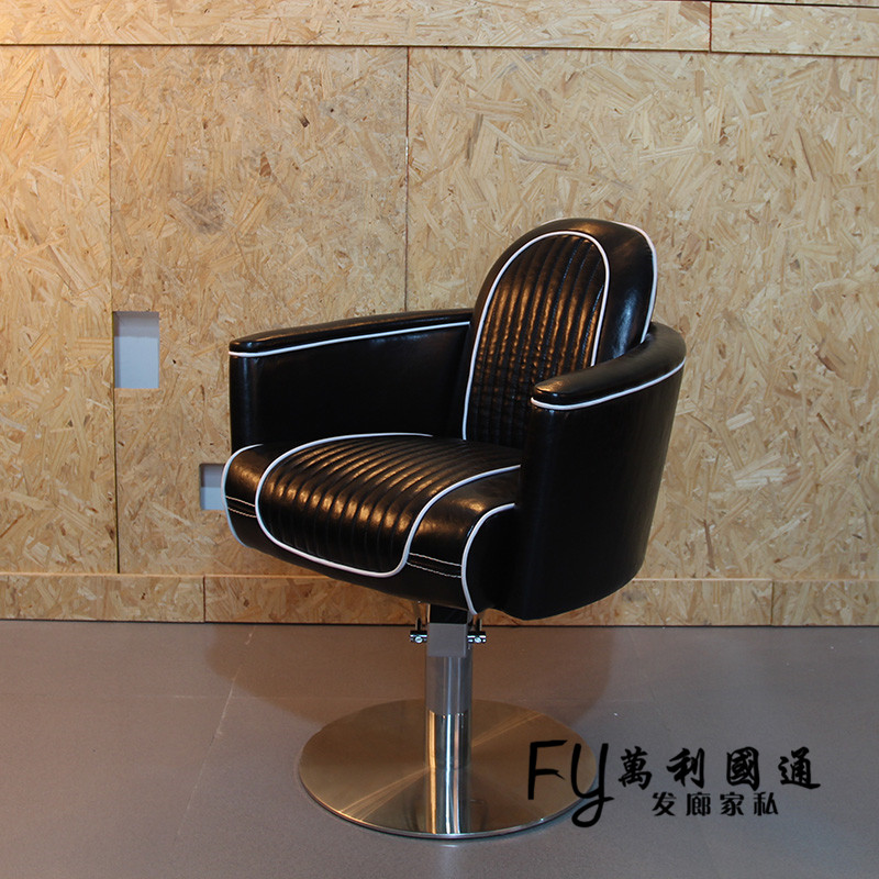 Restoring ancient ways, wrought iron hairdressing chair. The new hair salons haircut chair. Lifting hairdressing chair advanced the mvp pro
