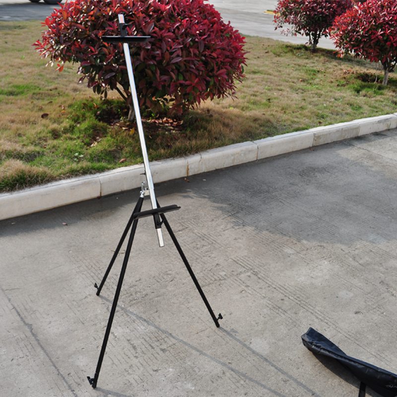 Artist Art Field Studio Painting Tripod Display Easel Portable Adjustable Folding Telescopic easel Stand Mini Easel for Painting adjustable portable easel for painting aluminium metal easel stand with paper holding 4k easel board