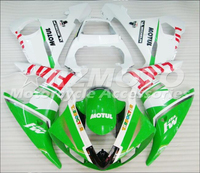 New ABS motorcycle Fairing For YAMAHA YZF R6 03 04 05 YZF600 2003 2005 Injection Bodywor exciting green and white ACE No.699