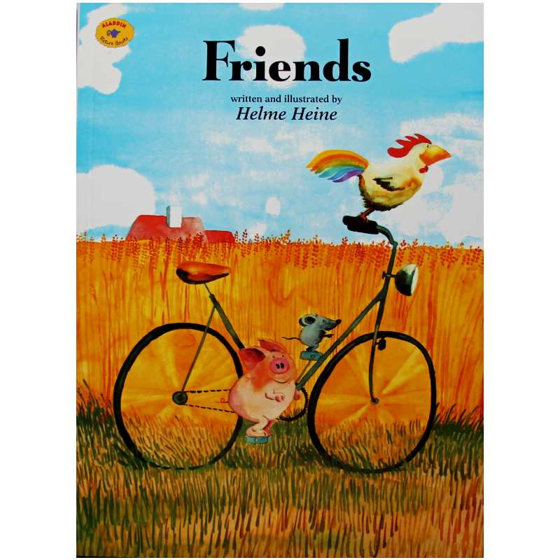 Friends By Helme Heine Educational English Picture Book Learning Card Story Book For Baby Kids Children Gifts