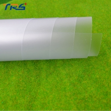 2pcs/lot pvc scrub films for architecture material DIY handmake model buidling matte