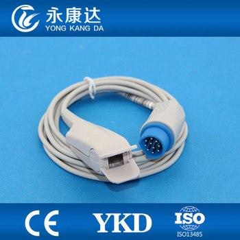 2pcs/pack HOT!!! adult finger clip probe direct reusable spo2 sensor