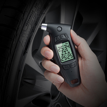 Steelmate DIY TPMS TC-01 Handheld Digital Tire Stress Gauge with LCD Show and Snug Ergonomic Deal with