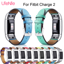 цена на For Fitbit Charge 2 smart watch Bands Leather Replacement Straps Interchangeable Smart sport Watch Band For Fitbit Charge 2