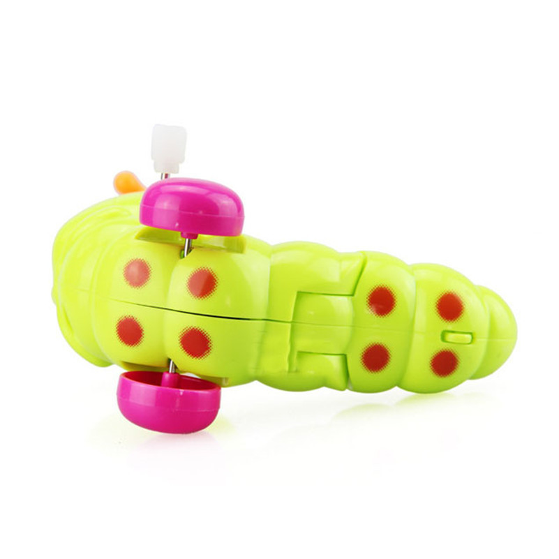 Image 2 - BalleenShiny Mini Baby Clockwork Spring Toys Kids Developmental Educational Colorful Wind up Fun Intelligence Toys Random Color-in Baby Rattles & Mobiles from Toys & Hobbies