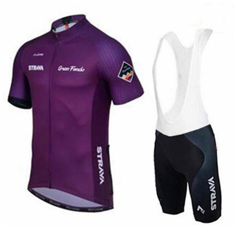STRAVA cycling jersey Men 39 s style short sleeves cycling clothing sportswear outdoor mtb ropa ciclismo bike cycling jersey sets in Cycling Sets from Sports amp Entertainment