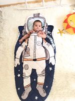 500g Pure Cotton Baby Sleeping Bag High Quality Astronaut Boy Girl Children S Style Sleeping Bag