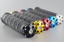 1 пара Велоспорт запираемый ручка для велосипедов MTB дорожный велосипед Руль BicycleGrip велосипед Алюминий сплав + резина 5 цветов