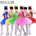 Insetos Trajes Cosplay Do Partido da menina Vestido Crianças 2-12 T Crianças Roupas de Desempenho Carnaval Realizando Vestido de Festa Vestido Floral