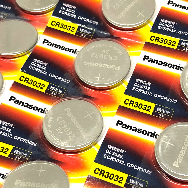1000pcs/lot Original Battery For Panasonic CR3032 3V Lithium Car Key Remote  Control Electric Alarm Cell Button Coin Batteries