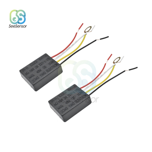 2Pcs AC 220V Lamp Touch Switch Electrical Equipment Table Light Parts On/off 1 Way Touch Control Sensor Bulb Lamp Switch